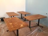 <h5>Unsere Tische</h5><p>Auch hier haben wir lackiert und lackiert und lackiert</p>