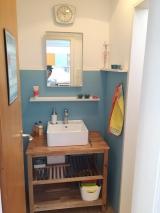 <h5>Waschraum fertig</h5><p>Hier kann man sich in Ruhe aufhübschen</p>