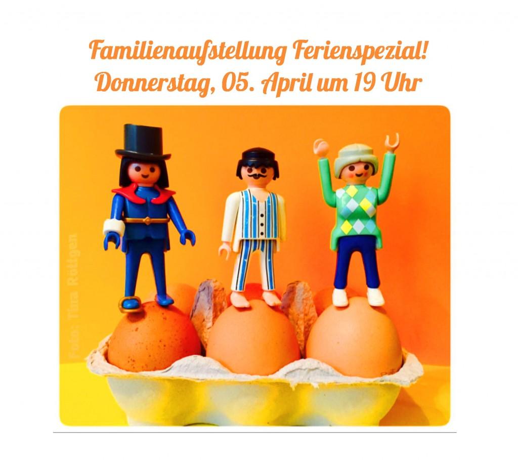 Aufstellung Ferienspezial am 05.04.2018 um 19 h
